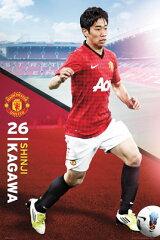 マンチェスター・ユナイテッド 香川真司 ポスター  Manchester United Kagawa ¥3800以上お...