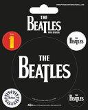 【送料¥216〜】 【ロンドン直輸入オフィシャルグッズ】ザ・ビートルズ ステッカー The Beatles (Black)