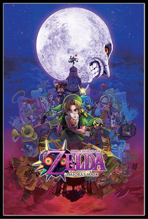 ポスター, タレント  The Legend Of Zelda170303