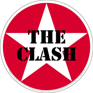 ポスター, タレント 250 USA The Clash Star Logo170501
