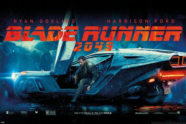 ポスター, アート  2049 Blade Runner 2049 (Flying Car) (180524)