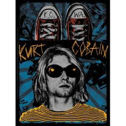 カート・コバーン デラックスステッカー Kurt Cobain K.C.W.A.