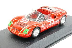 ミニカー 1/43 ベストモデル BEST MODEL アバルト SP1000/1300 1968年 モンツァ1000km #59 Grana/Pasotto(9530)
