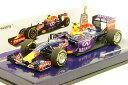 ミニカー 1/43 ミニチャンプス MINICHAMPS (417150026) インフィニティ レッドブルレーシング ルノー RB11 2015年 本選仕様 No.26 D.クビアト 1