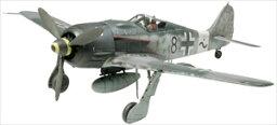 タミヤ 1/48 フォッケウルフ Fw190 A-8 スケールモデル 61095