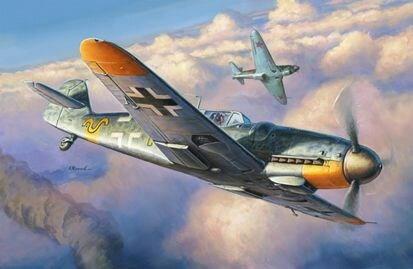 ズベズダ 1/48 メッサーシュミット Bf-109 G6 スケールプラモデル ZV4816