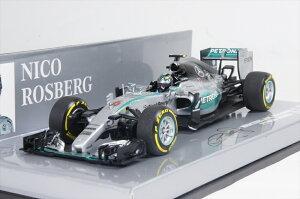 ミニカー 1/43 ミニチャンプス MINICHAMPS(410150306) メルセデスAMG ペトロナスF1チーム W06 ハイブリッド N.ロズベルグ USA GP 2015