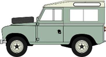 オックスフォード 1/43 ランドローバー シリーズ IIA SWB ステーションワゴン パステルグリーン 完成品ミニカー OX43LR2AS03