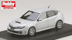 MARK431/43 スバル インプレッサ WRX STI(GRB) 純正オプション搭載車 サテンホワイトパール 完成品ミニカー PM4370SW 送料無料