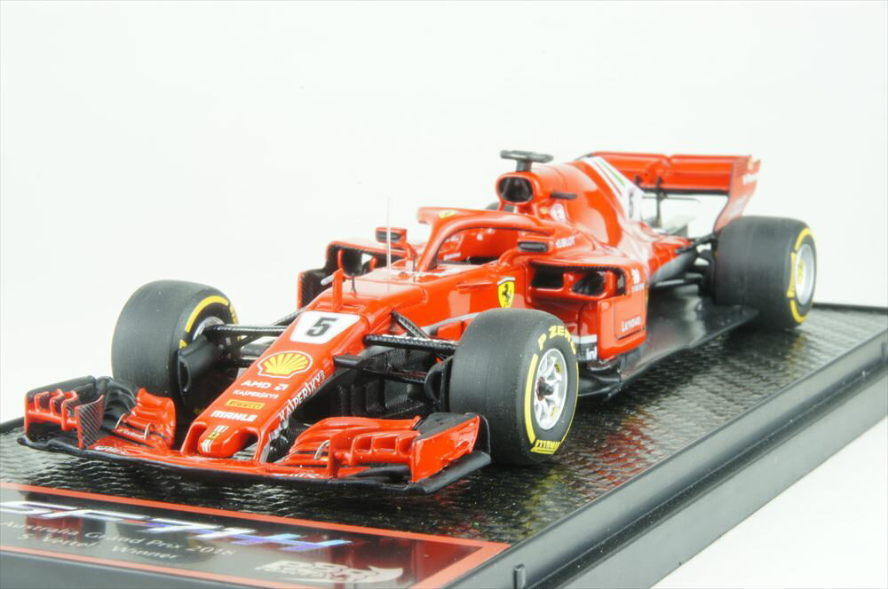 車, ミニカー・トイカー BBR 143 SF71H No.5 2018 F1 GP S. BBRC204A