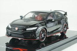 トゥルースケール 1/43 ホンダシビック タイプ R クリスタル ブラックパール 右ハンドル 日本国内仕様 完成品ミニカー TSM430275