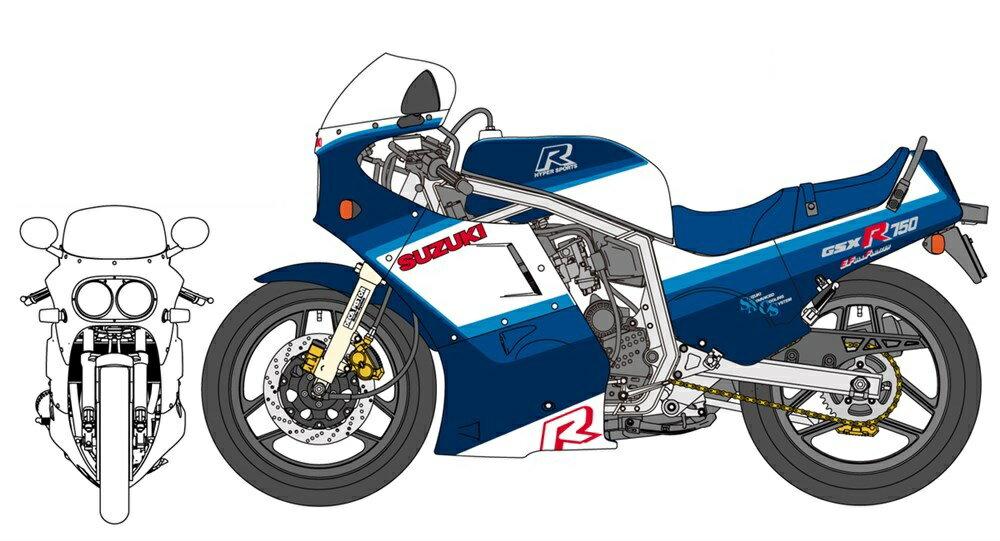 車・バイク, バイク  112 GSX-R750(G)(GR71G) BK7