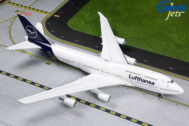 ジェミニ200 1/200 747-400 ルフトハンザ航空 新塗装 D-ABVM 完成品 艦船・飛行機 G2DLH792