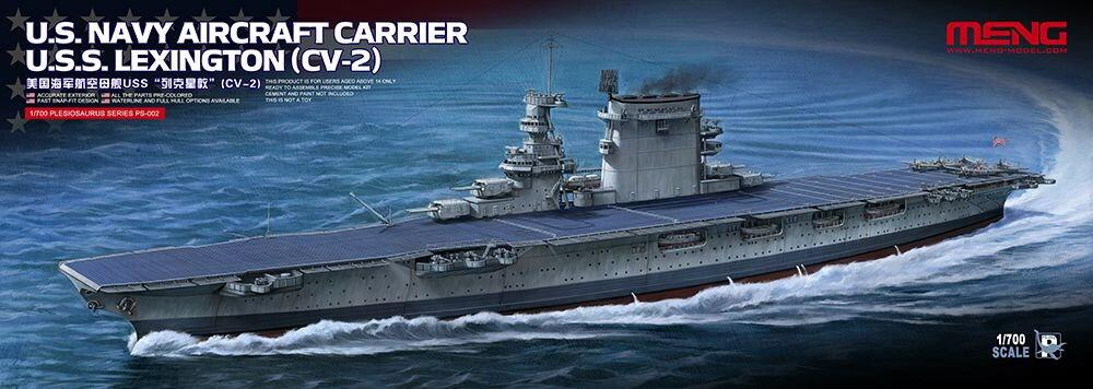 プラモデル・模型, その他  1700 USS (CV-2) MPS002