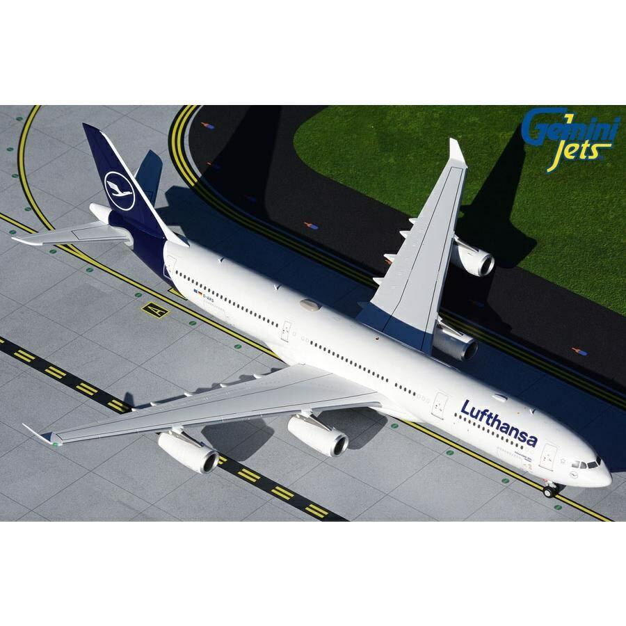 ジェミニ200 1/200 A340-300 ルフトハンザ航空 D-AIFD 新塗装 完成品モデル G2DLH817