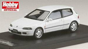 MARK43 1/43 ホンダ シビック SIR EG6 1992 フロストホワイト 完成品ミニカー PM4365AW