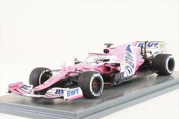スパーク 1/43 BWT レーシングポイント RP20 No.27 2020 F1 70周年GP N.ヒュルケンベルグ 完成品ミニカー S6478