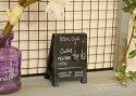 カフェツールブラックイーゼルカフェの看板をモチーフにしたミニチュアディスプレイ