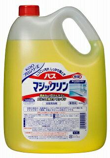 花王KAOkaoバスマジックリン4.5L詰め替え用業務用浴室用洗剤お風呂を清潔にクリーミーな泡が汚れを吸着