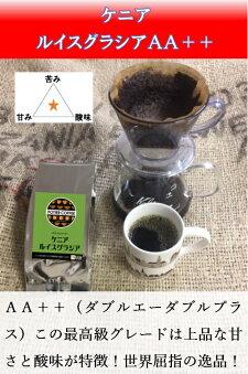 【ポティエコーヒー】ケニアルイスグラシア500g