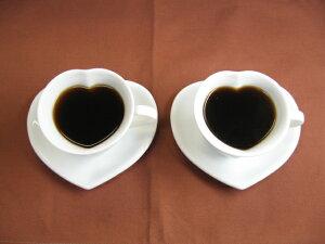 ハートコーヒーカップペアセット 【楽ギフ_包装】【楽ギフ_のし宛書】