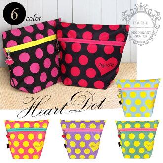 Deodorant pouch S size POUCHE (pace) dots