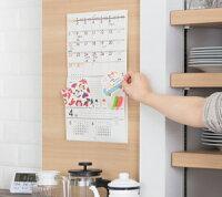 ポケット付きカレンダーメモルダー実用タイプ使用例