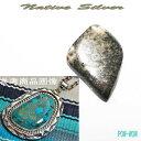 ネイティブシルバー【受注製作】シルバーペンダント ハンドメイド オンリーワン 一点もの メンズアクセ POW-WOW パウワウ メタルワーク 手作り いぶし銀