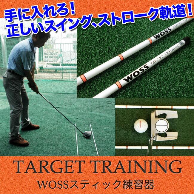 トレーニング用具, スイング練習 !!2TARGET-TRAINING2 WOSS