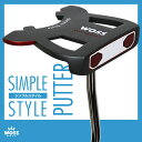 【パター】WOSS(ウォズ)シンプルスタイル パター WP-1604/1 ネオマレット メンズ レディース/ゴルフ クラブ 男女兼用 激安 アウトレット価格