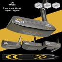 【WOSS/ウォズ】トーナメントモデル パター ピン型 マレット型 ウイング型 ゴルフ クラブ 格安