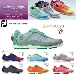 【シューズ系】フットジョイ/FOOTJOYemPOWERエンパワー(レディース)ゴルフシューズ【足幅:W(EE)タイプ】【ゴルフ用品】|スポーツ・アウトドアゴルフ
