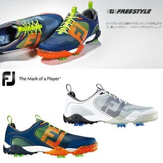 [鞋派][2016年型號]FOOTJOY-脚喬伊-FREE STYLE自由式MENS(男子)釘鞋高爾夫球鞋[脚寬度:W(EE)型][高爾夫球用品]| 運動·戶外高爾夫球功率高爾夫球powergolf郵購Outlet價格