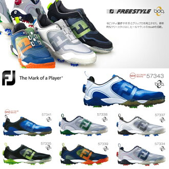 [鞋派][2016年型號]FOOTJOY-脚喬伊-FREE STYLE BOA自由式毛皮圍巾MENS(男子)釘鞋高爾夫球鞋[脚寬度:W(EE)型][高爾夫球用品]| 運動·戶外高爾夫球功率高爾夫球powergolf郵購Outlet價格