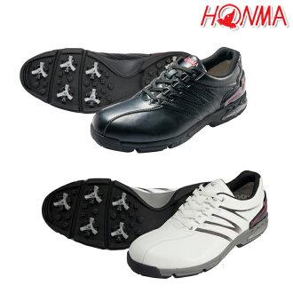 [鞋派][SS-1601]本間高爾夫球/HONMA GOLF/真的高爾夫球鞋(防水)[脚寬度:2E(EE)][鞋、鞋]25-28.29cm[HONMA GOLF/真的高爾夫球2016年目錄商品]| 高爾夫球功率高爾夫球