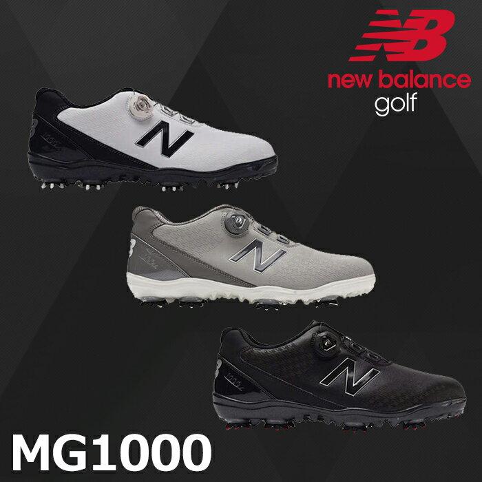 bdaa666dc4241 Boa メンズ MG1000 [ニューバランス ゴルフ] NEW BALANCE GOLF ホワイト ゴルフシューズ
