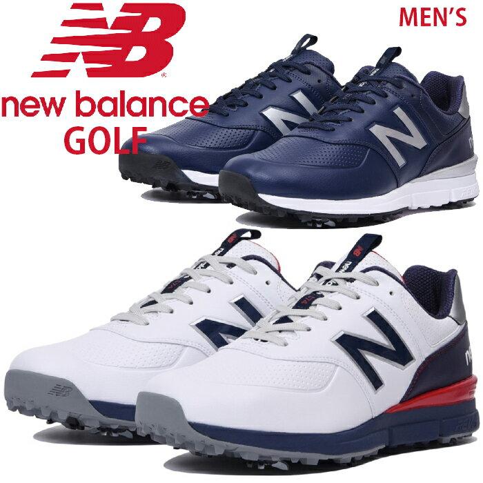 4c22f7a3fb621 ニューバランスゴルフ メンズ ソフトスパイク ゴルフシューズ【足幅:D(やや細め)