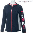 【30%OFF】TOMMY HILFIGER GOLF 春夏モデル トミーヒルフィガー ブルゾンレディース THLA901 ゴルフウエア レディース 春夏