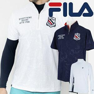 フィラ ゴルフ 2021年春夏モデル メンズ 半袖シャツ+インナーセット 741-500 FILA GOLF【21】ゴルフウエア 春 夏