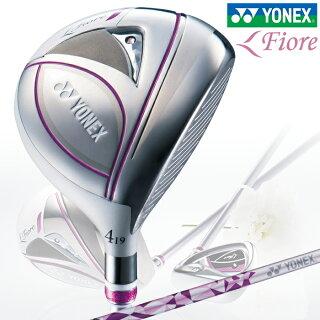 YONEXヨネックスフェアウェイウッドLADYSレディースFioreFairwayWoodフィオーレフェアウェイウッドFR700カーボンシャフト【18】ゴルフクラブゴルフ用品