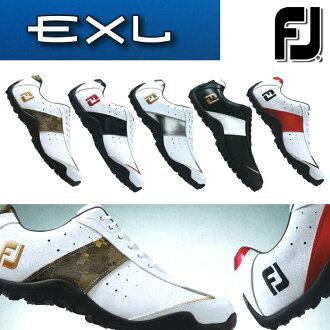 [鞋派]沒有FOOTJOY-脚喬伊-EXL SPIKELESS E X L釘鞋的(男子)高爾夫球鞋[脚寬度:W(EE)型][高爾夫球用品][2017年目錄商品脚喬伊/FOOTJOY]| 運動·戶外高爾夫球功率高爾夫球powergolf