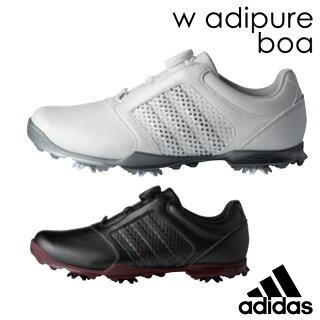 adidasGolfアディダスゴルフゴルフシューズLADYSレディースF33639F33641NEW春夏モデルWadipureBoaウィメンズアディピュアボア【18】サイズ22.5cm-25.0cm幅EEE靴ゴルフ用品