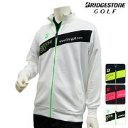 ブルゾン ブリヂストン BRIDGESTONE フルジップ ストレッチ スウェット トレーナー トップス