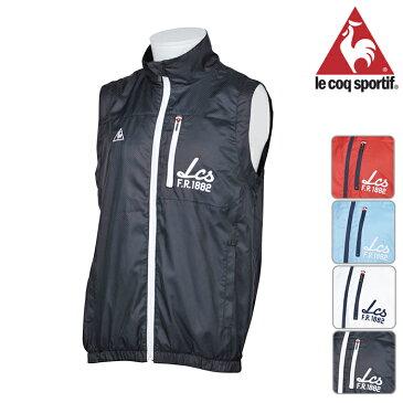 ◆le coq ルコック フルジップ ベスト MENS メンズ 春夏 QG6708 春夏モデル フルジップベスト【17】トップス ウェア M L LL サイズ ゴルフ用品