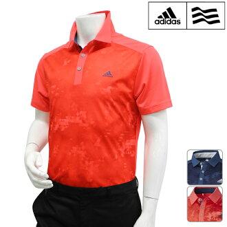 adidas golf-愛迪達高爾夫球-MENS(男子)CP climacool jiopurinto S/S短袖開領短袖襯衫M,L,O,XO尺寸