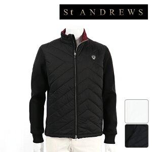 【30%OFF】St ANDREWS セントアンドリュース メンズ ブルゾン 042-8222151秋冬モデル 【18】アウター M L LL サイズ ゴルフウェア