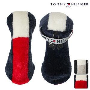 TOMMY HILFIGER トミーヒルフィガー ヘッドカバー thmg8fh7 ストレッチボアヘッドカバー ユーティリティー用【18】アクセサリ 小物 ゴルフ用品