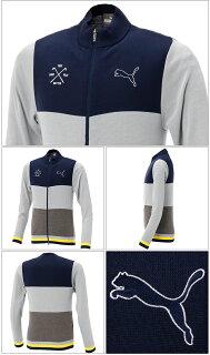 【ニット系】【923524】【NEW春夏モデル】PUMAGOLF-プーマゴルフ-MENS(メンズ)フルジップ長袖セーター【17】【トップス】【ウエア】M,L,XL,XXLサイズ【ゴルフ用品】