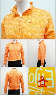 ◆【長袖シャツ系】【SG1321】【40%OFF】【春夏モデル】Munsingwear-マンシングウエア-MENS(メンズ)ハーフジップ長袖シャツ【16】【トップス】【ウエア】M,L,LLサイズ【ゴルフ用品】