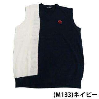 ◆【ベスト系】【SG5073】【40%OFF】【春夏モデル】Munsingwear-マンシングウエア-MENS(メンズ)ニットVネックベスト手洗い可能【16】【トップス】【ウエア】M,L,LL,3Lサイズ【ゴルフ用品】